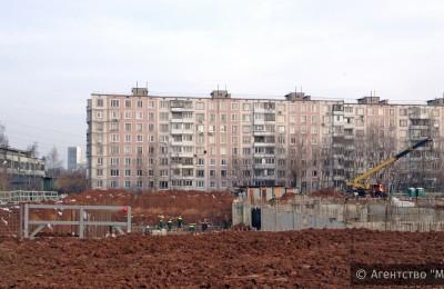 Продолжение строительства ФОКа в Нагатинском затоне запланировано на следующий год