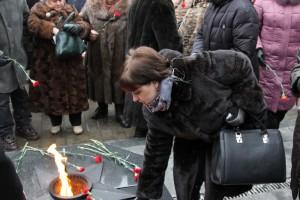 Жители ЮАО в преддверии 23 февраля почтили память погибших в Великой Отечественной войне