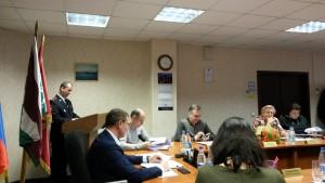 Гостем на заседании была глава управы района Ирина Джиоева