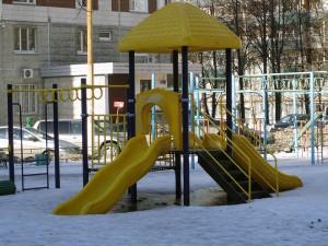 Новая детская площадка появится в Нагатинском затоне