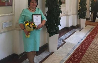 Депутат Ольга Мельникова получила благодарность от мэра Москвы