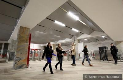 На 41 станции московского метро отремонтировали вестибюли и переходы