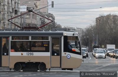 В Москве все трамваи оснастят тревожными кнопками и видеорегистраторами