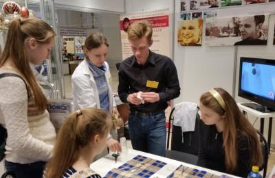 Студенты колледжа Фаберже приняли участие в международной профориентационной выставке