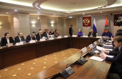 Михаил Львов принял участие в заседании президиума Совета муниципальных образований Москвы