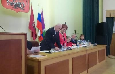 Расширенное заседание окружного Совета ветеранов прошло в ЮАО