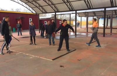 Открытый турнир по игре в городки