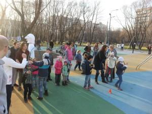 Центр досуга «Планета молодых» организовал для детей района интерактивное мероприятие