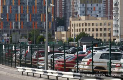 Услугами перехватывающих парковок в ЮАО за прошлый год воспользовались почти 700 тысяч автомобилистов