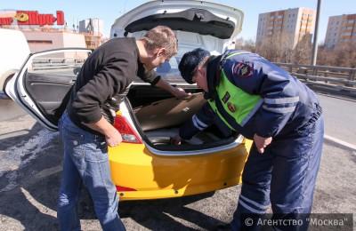 В Нагатинском затоне задержан пьяный водитель