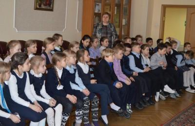 Детям района Нагатинский затон рассказали об известных писателях