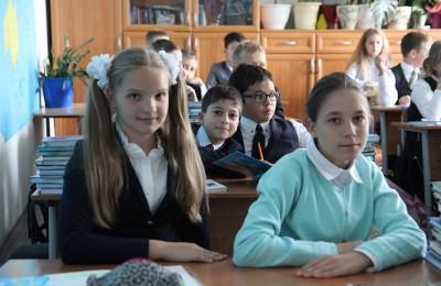 Ученики школы №1770 Нагатинского затона этим летом отдыхают в Крыму