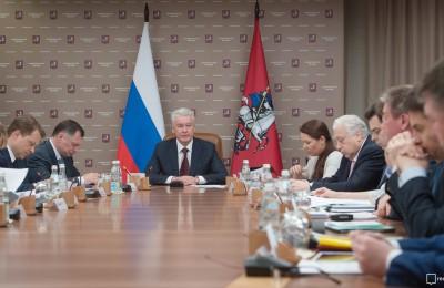 Мэр Москвы объявил о продлении парковочных разрешений для резидентов