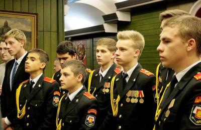 Участниками Георгиевского парада станут кадеты района Нагатинский затон