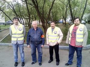 """Активисты проекта """"Безопасная столица"""""""