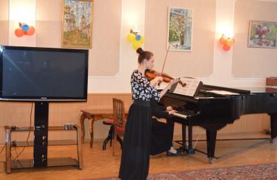 Жители района Нагатинский затон послушали звуки скрипки