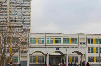 Школа № 1770 в Нагатинском затоне