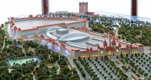 Проект парка развлечений в Нагатинской пойме
