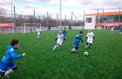 Более 10 футбольных полей построят в Москве для детско-юношеских спортшкол