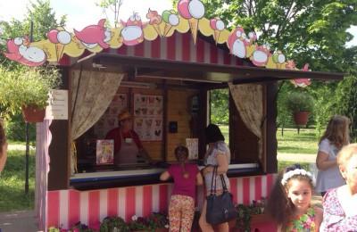 10 спортивных зон открыто на фестивале «Московское мороженое»