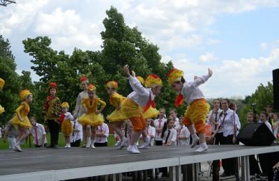 В ЮАО прошел фестиваль «Пускай смеются дети»