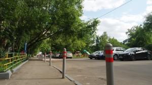 Новые парковка для машин появится в районе Нагатинский затон