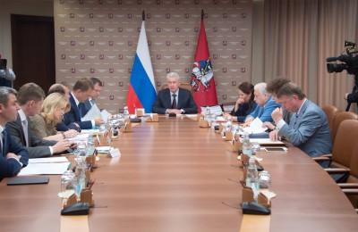 Мэр Москвы Сергей Собянин: За 6 лет в городе построили более 500 км дорог