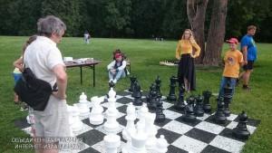 В музее-заповеднике «Царицыно» прошел шахматный пикник
