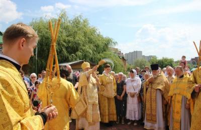 День явления Чудотворной Иконы Божией Матери во граде Казани отметили в Нагатинском затоне