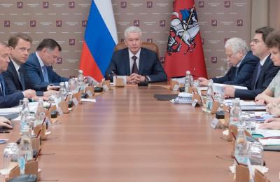 Мэр Москвы Сергей Собянин: Теперь заторы в Щербинке исчезнут