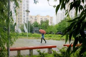Жители района Нагатинский Затон  могут сообщить о подтоплениях из-за ливней