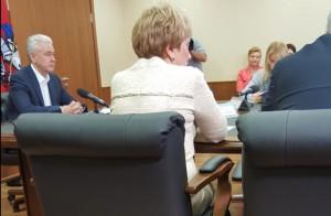 Мэр Москвы Сергей Собянин совершил рабочую поездку в Щербинку