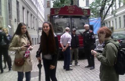Студентам колледжа Фаберже показали Москву