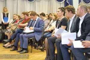 На встрече присутствовала глава управы района Ирина Джиоева