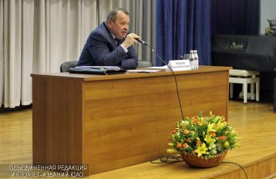 Префект ЮАО Алексей Челышев ответил на вопросы жителей Нагатинского затона