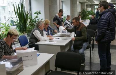 Активность избирателей в столице выше, чем на выборах мэра Москвы