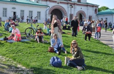 Интеллектуальная молодежь поможет развитию Коломенского