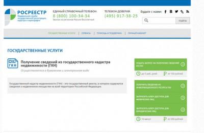 Оформить государственные услуги можно в электронном виде на портале Росреестра