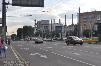 Движение по двум улицам в ЮАО ограничат в связи с проведением ремонта инженерных сетей