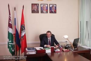 Михаил Львов поздравил ветеранов района с 75-летием битвы под Москвой