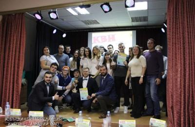 Молодежная палата района одержала победу в игре КВН
