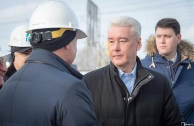 Мэр Москвы Сергей Собянин: Южная рокада - это серьезный проект для города