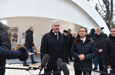 Мэр Москвы Сергей Собянин: До открытия парка осталось менее года