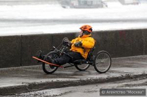 Зимний велопарад 2015 года