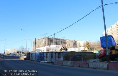 Эстакаду над путями Павелецкого направления в ЮАО построят к октябрю следующего года