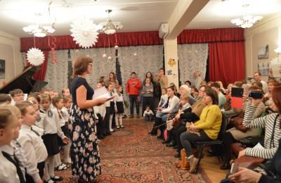 В музыкальной школе имени Кары Караева