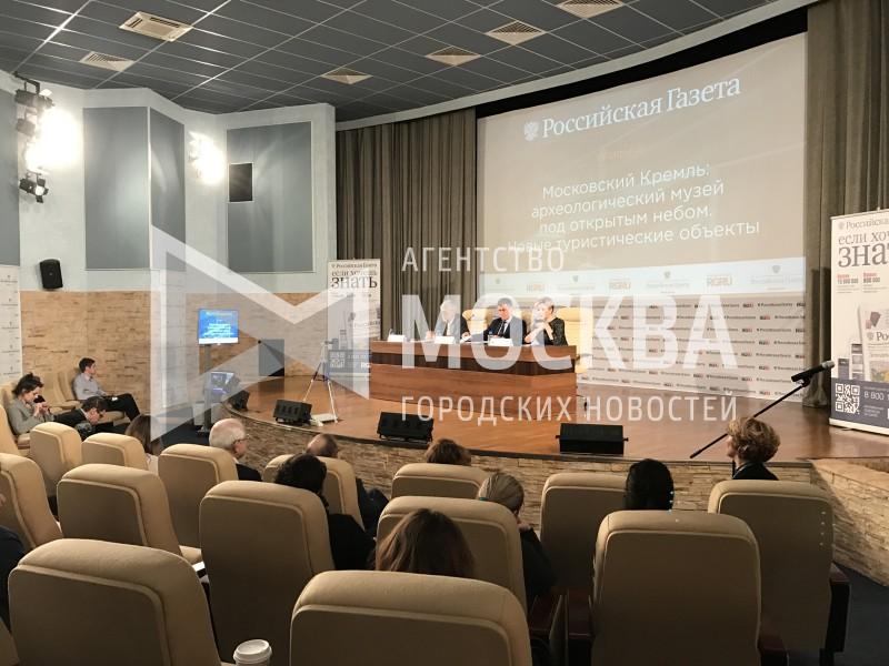 Новый археологический музей создадут вМосковском Кремле