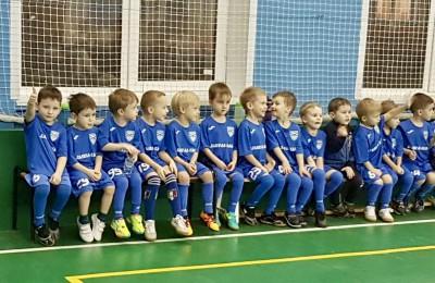 Юные футболисты Нагатинского затона сыграли на первом официальном турнире в этом году