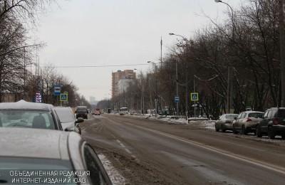 Дорожная разметка на Якорной улице может появиться этой зимой