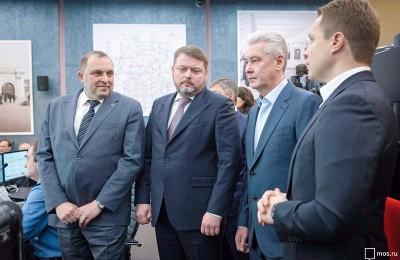 Собянин открыл Центр обеспечения безопасности метро